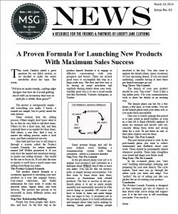 MSG Newsletter #2