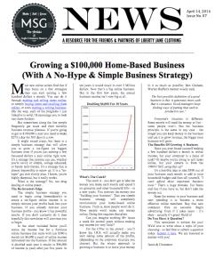 growing a six-figure home-based business